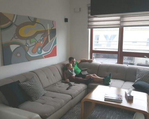 FOTO hotoveho obrazu v interieru